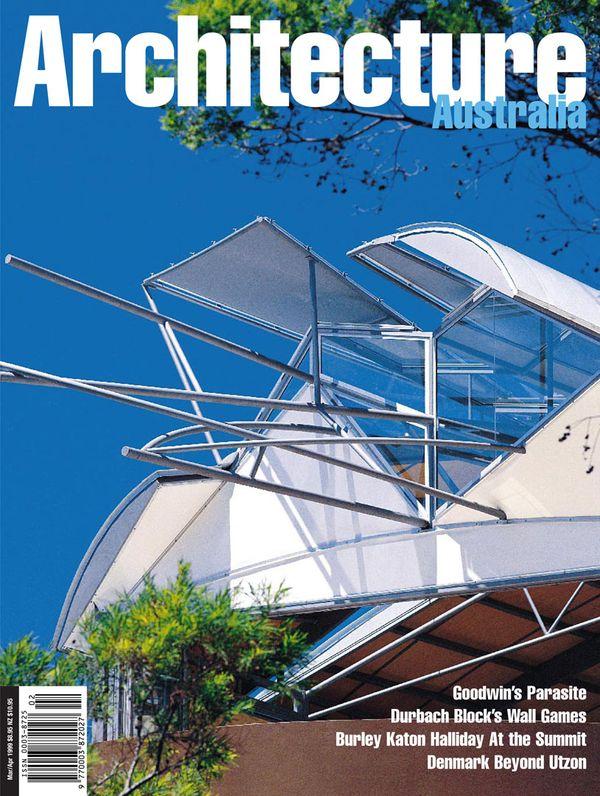 Architecture Australia, March 1999