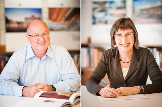 Michael Pilkington and Susan Phillips, Phillips/Pilkington Architects.