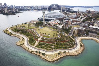 Barangaroo Reserve by Johnson Pilton Walker in association with PWP.