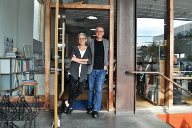 Hank Koning and Julie Eizenberg of Koning Eizenberg Architecture.