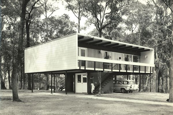 Beachcomber house, Faulconbridge, Blue Mountains, NSW. (1961)