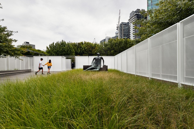 The 2017 NGV Architecture Commission, Garden Wall, by Retallack Thompson and Other Architects.