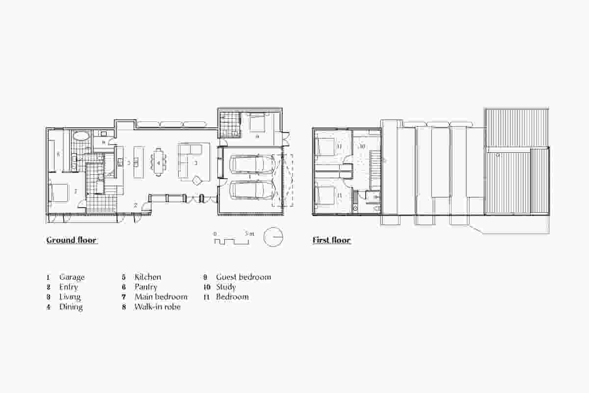 Plans of Moving House by Architects EAT.