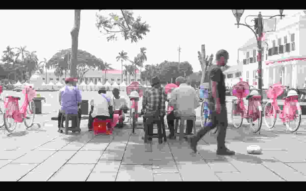 Sunda Kelapa: Selamat Datang by Aliansyah Caniago, Jakarta 2017.