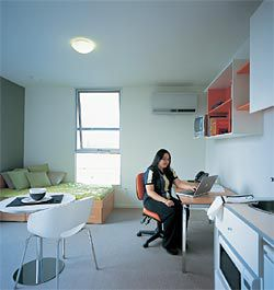 Interior of a standard