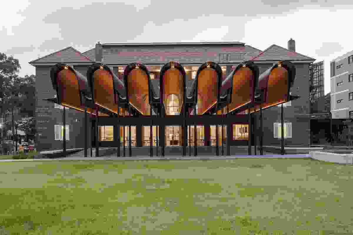 Joynton Avenue Creative Centre by Peter Stutchbury Architecture.