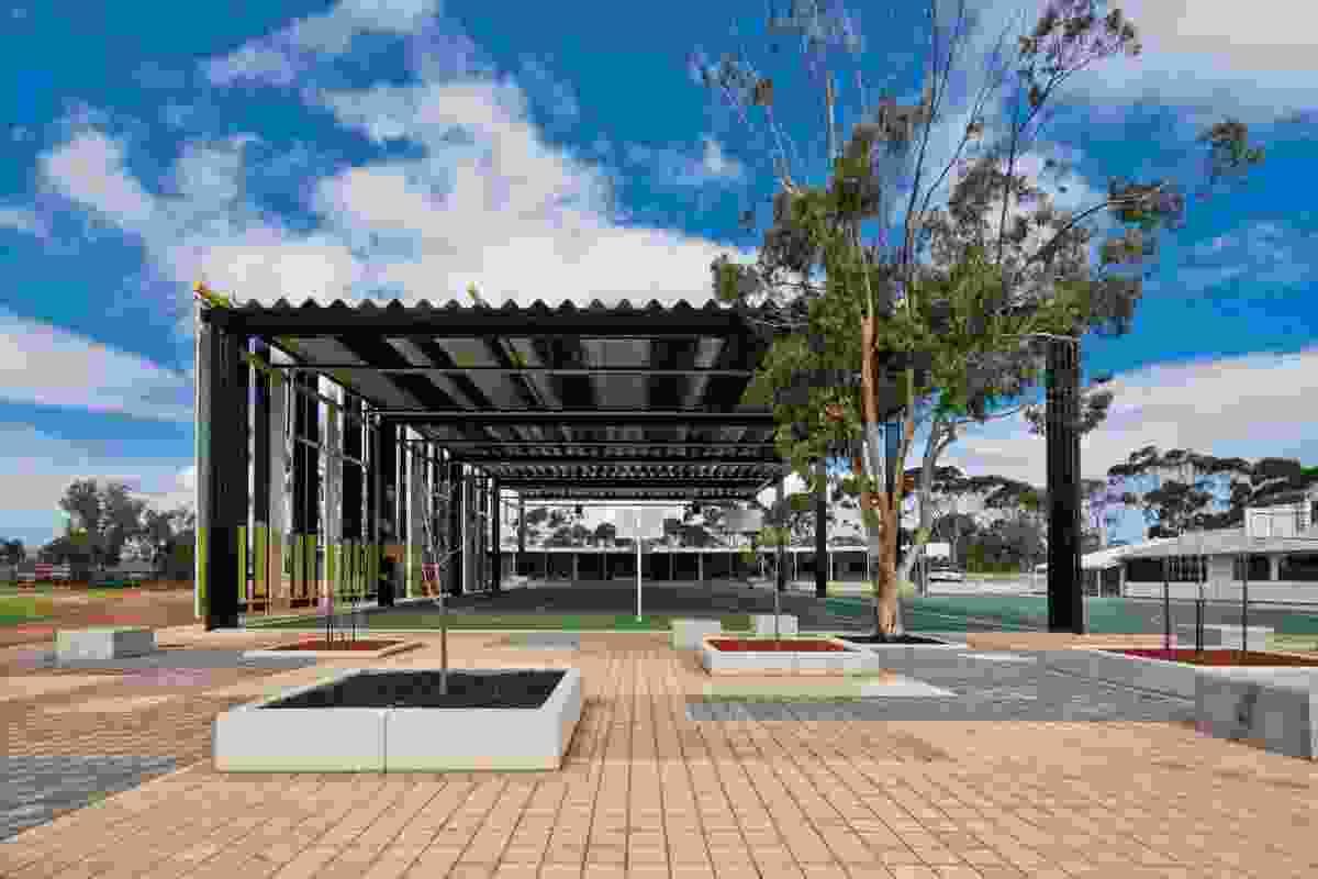 Caritas College Junior School External Covered Area.
