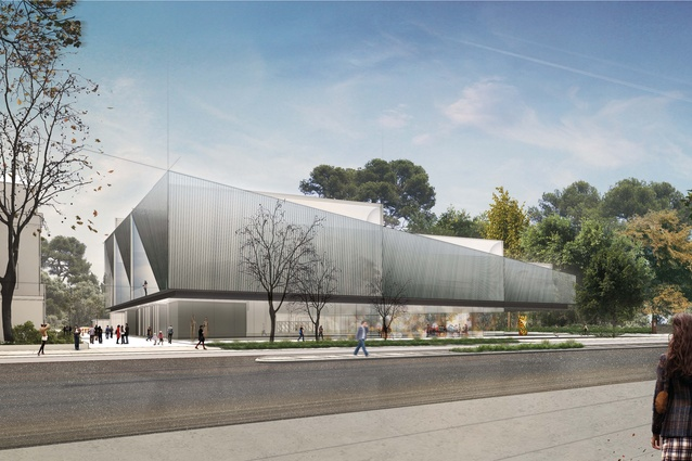 The winning proposal for Adelaide Contemporary by Diller Scofidio and Renfro and Woods Bagot.