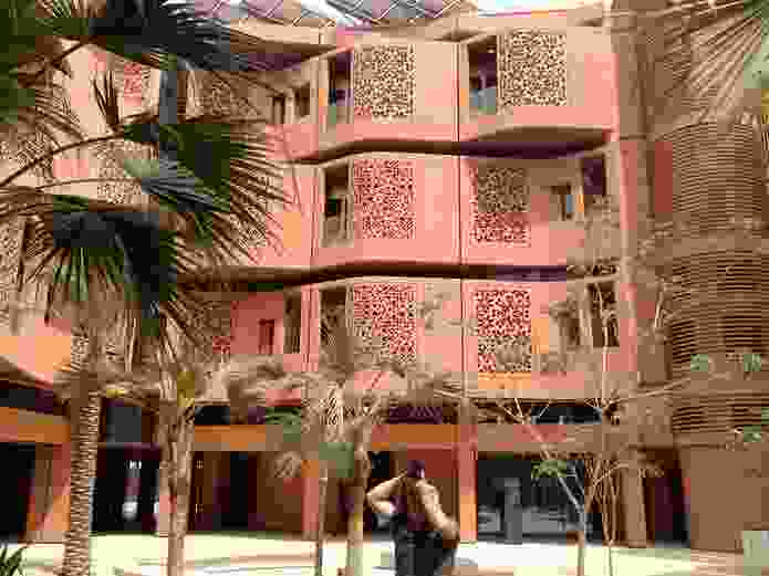 Foster + Partners's student Housing at Masdar City, Abu Dhabi.