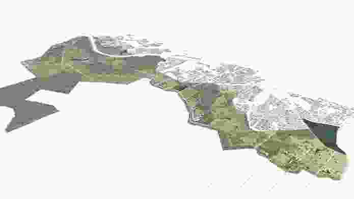 Southern Parklands Framework by Tyrrellstudio in collaboration with Western Sydney Parklands Trust.