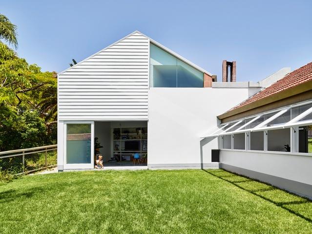 Dichotomous Domesticity Rosalie House Architectureau