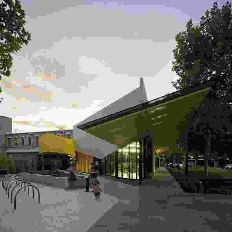 Bendigo Library Redevelopment by MGS Architects.