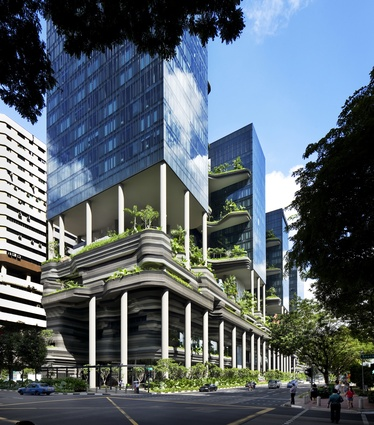 PARKROYAL on Pickering, Singapore (Singapore) by WOHA.