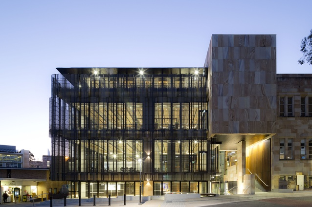 The University of Queensland Global Change Institute by Hassell.
