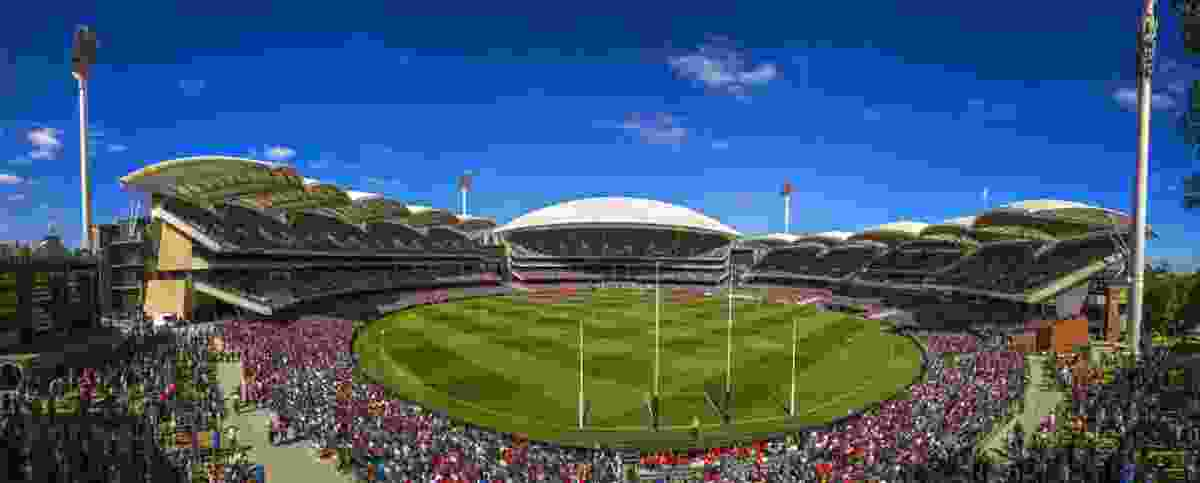 Adelaide Oval Redevelopment by Cox Architecture.