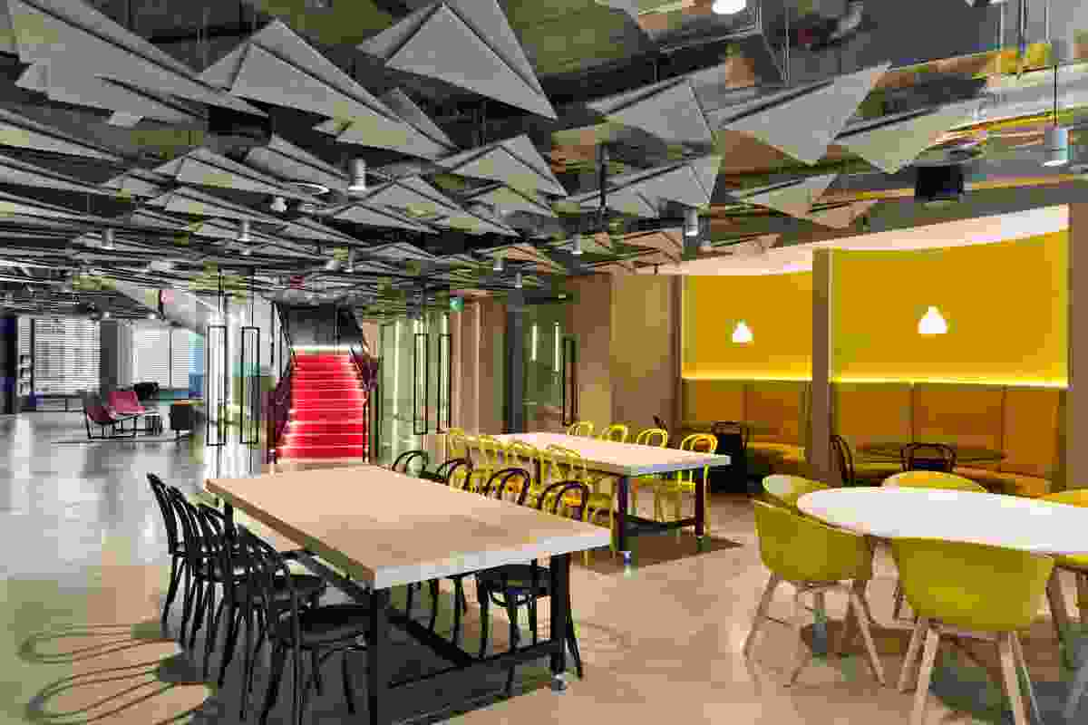 Boston Consulting Group Sydney by Carr Design Group.