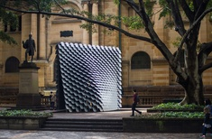 Pavilion at State Library of NSW converts paintings into sound