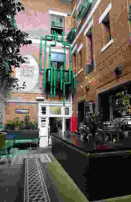 The Fox Hotel Heineken Installation by Design Clarity