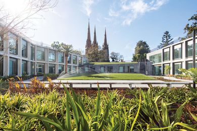 Members' Annexe Building, Parliament of Victoria by Peter Elliot Architecture and Urban Design.