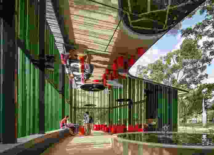 James Cook University, Verandah Walk by Wilson Architects