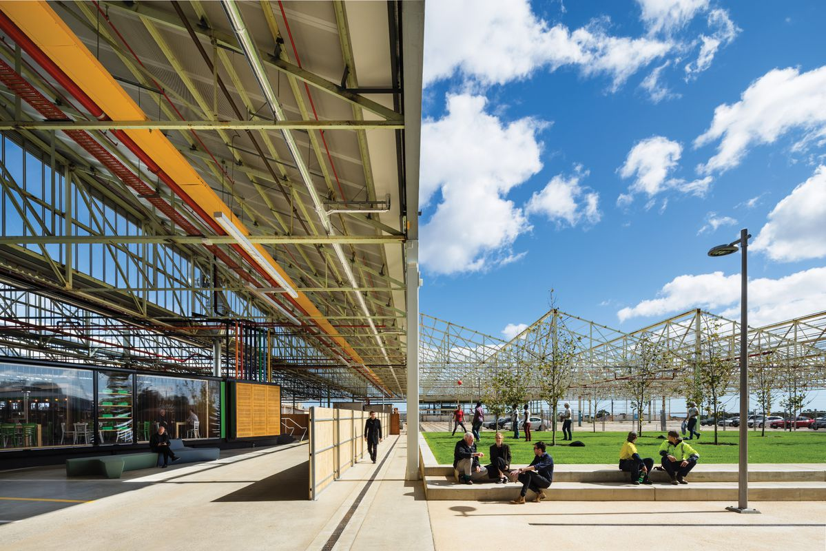 Canopy of industry: Tonsley Main Assembly Building