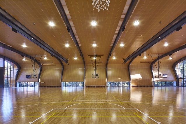 Abbotsleigh Multi-purpose Assembly and Sports Hall and Sports Field by Allen Jack+Cottier Architects.