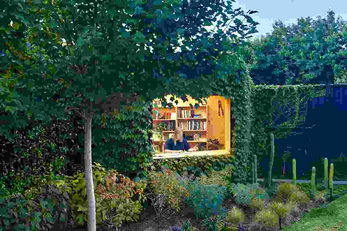 Writer's Shed by Matt Gibson Architecture and Design with Ben Scott Garden Design.