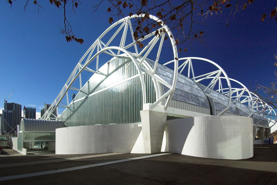 The Ian Thorpe Aquatic Centre by Harry Seidler.