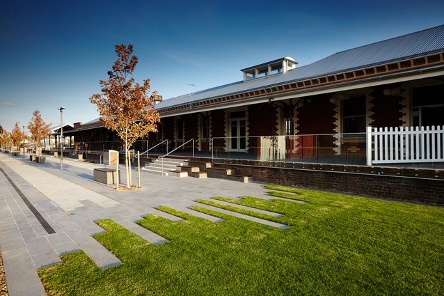Junction Place, Wodonga (Wodonga, Victoria) by Aspect Studios and City of Wodonga.