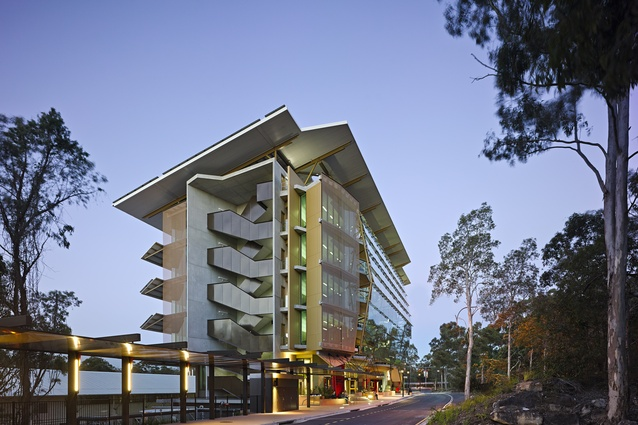 Sir Samuel Griffith Centre by Cox Rayner Architects.