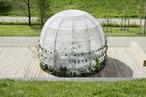 LAVA, Janet Laurence create membrane-wrapped 'medicinal garden' pavilion