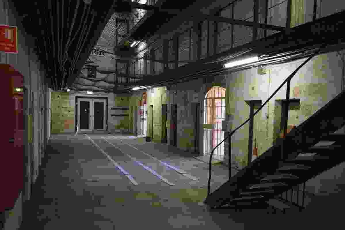 Fremantle Prison Main Cell Block Conservation by Philip Griffiths Architects.