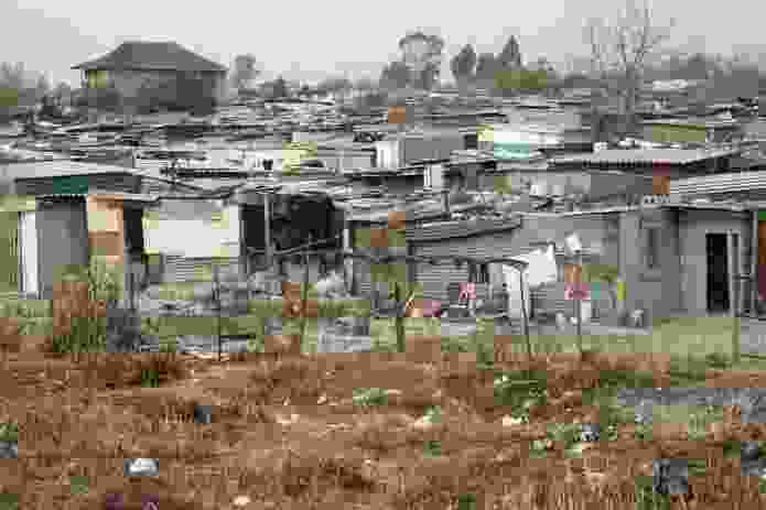 A photograph of the Diepsloot focus area.