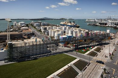 Auckland's Jellicoe Street, North Wharf Promenade and Silo Park, by Taylor Cullity Lethlean with Wraight + Associates.
