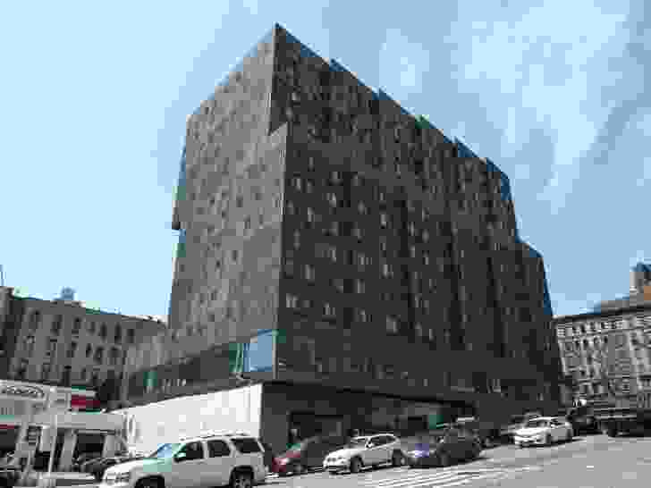 Sugar Hill by Adjaye Associates is a mixed-use, affordable housing complex located in Harlem on Manhattan's Upper West Side.