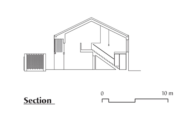 Section of Grey street House by Local Architecture.