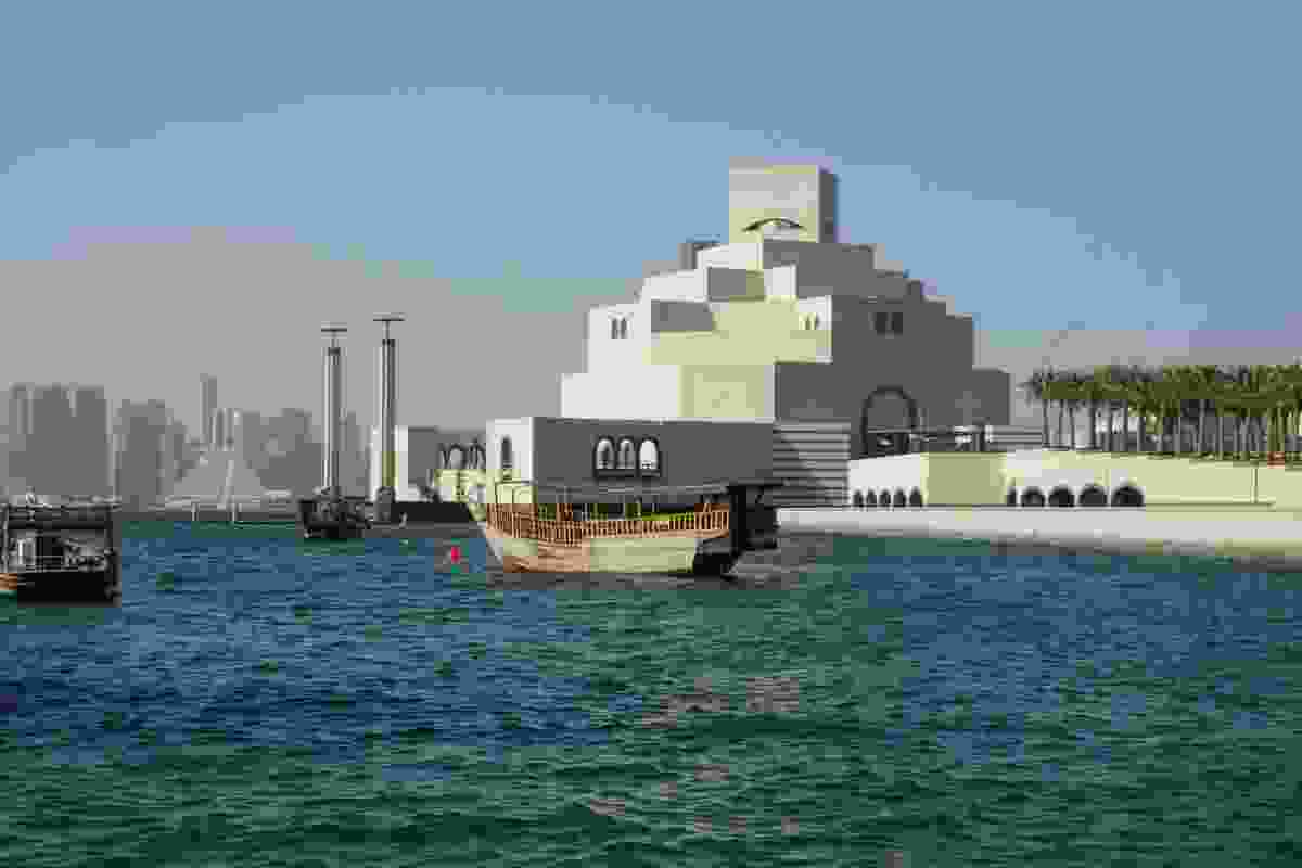 Ieoh Ming Pei's Museum of Islamic Art in Doha, Qatar.