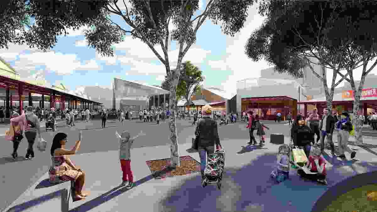 Queen Victoria Market precinct renewal by NH Architecture.