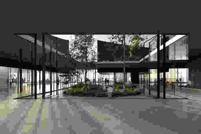 Mureau Kusunoki Architectes winning design for the Guggenheim Helsinki.