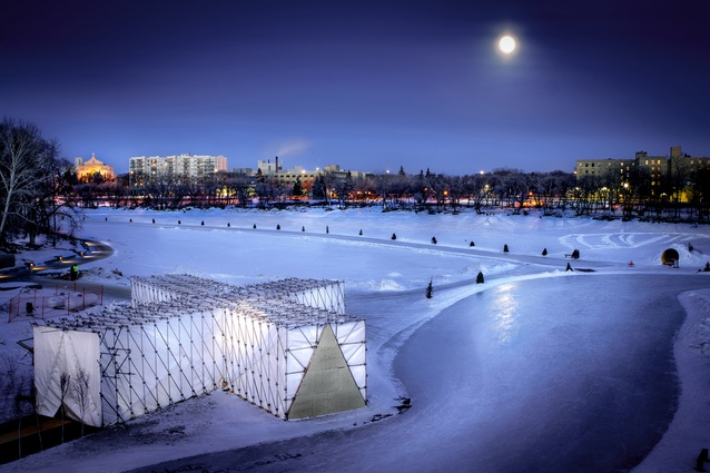 RAW: Almond Restaurant on Ice by OS31.