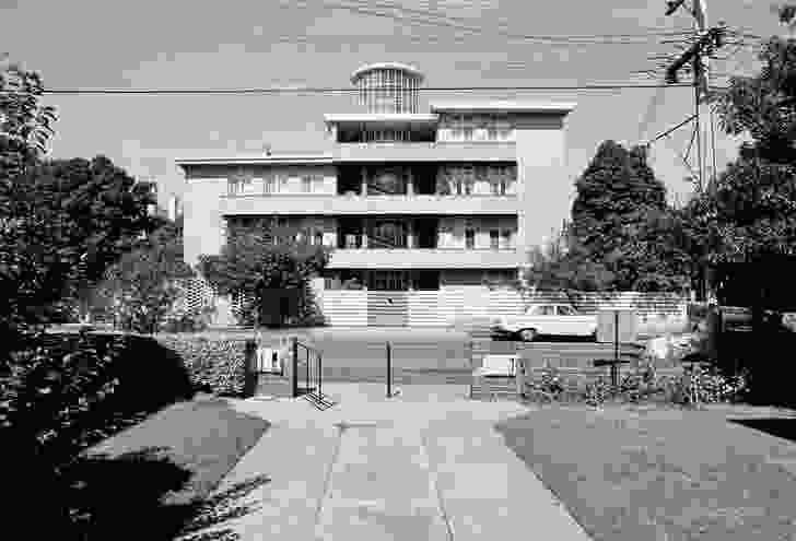 Moonbria apartments in Toorak, by Roy Grounds (1940–41).