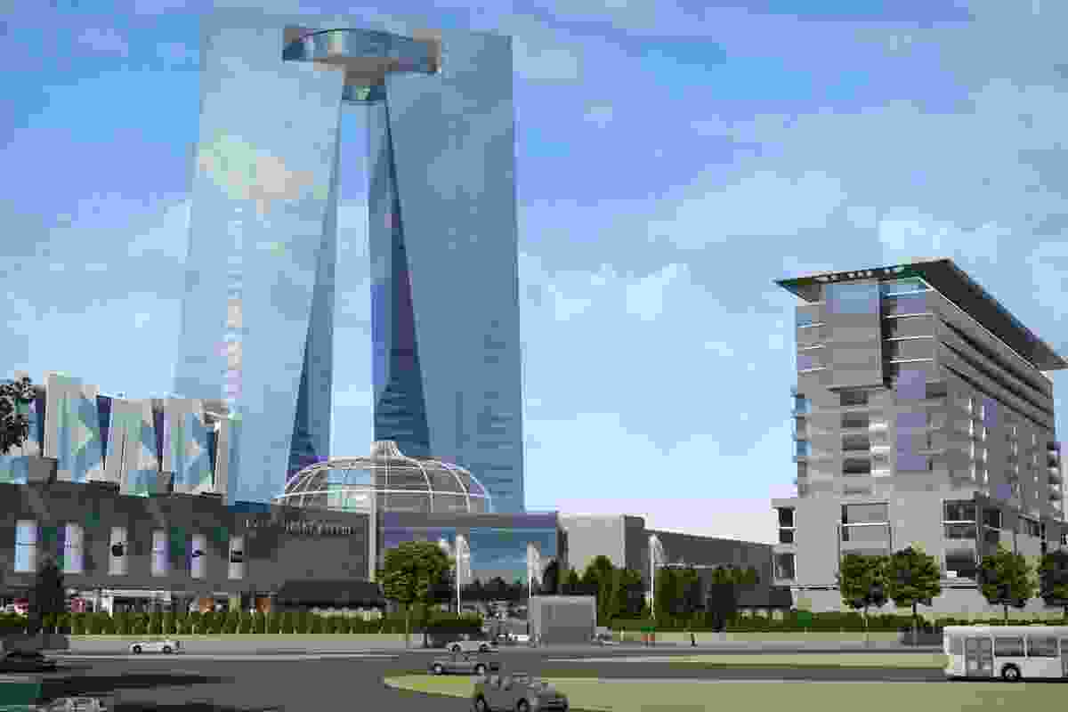 Dzerzinsky Avenue complex by CK Designworks.