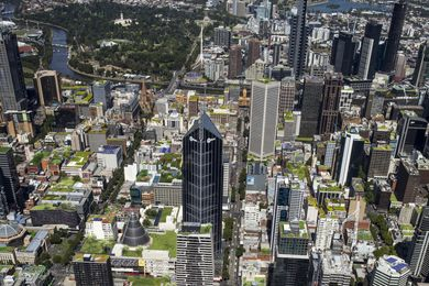 City of Melbourne wants green roofs and solar arrays on rooftops, but without any policies in place, will they get their wish?