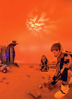 The Mars experience at the Victorian Space Science Centre, Strathmore Secondary College.