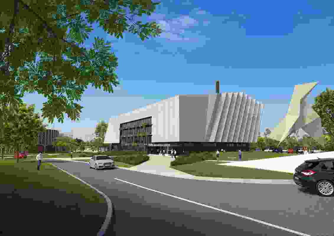Cairns Innovation Centre by Wilson Architects and Clarke and Prince.