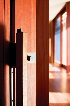 A small detail, like this door handle at House in Country NSW by Virginia Kerridge Architect, can reflect the whole spirit of a project.