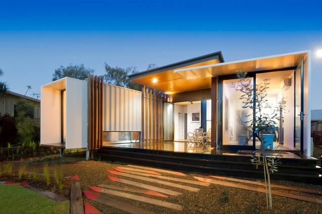 The Beach Box by OGE Group Architects.
