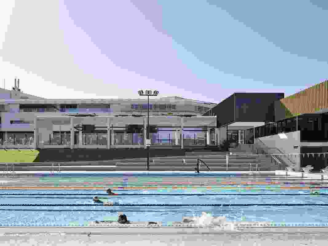 Griffith University Aquatic Centre by Conrad Gargett.
