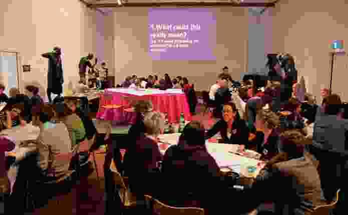 Vibrant City Forum participants discuss the future of Adelaide.