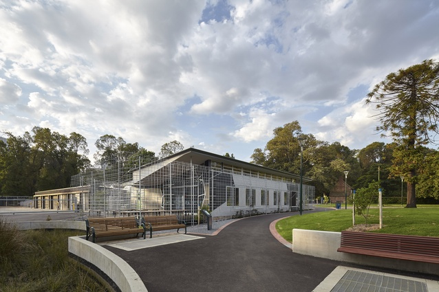 Fitzroy Gardens Visitor Centre and Cafe by City Design Studio - City of Melbourne